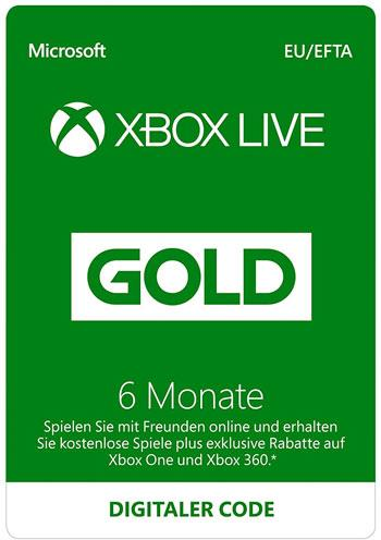 XBOX Live Card 12 Monate Gold