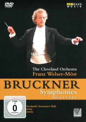 The Cleveland Orchestra & Franz Welser-Möst - Bruckner - Symphonies Nos. 4, 5, 7, 8 & 9 (Arthaus Musik)
