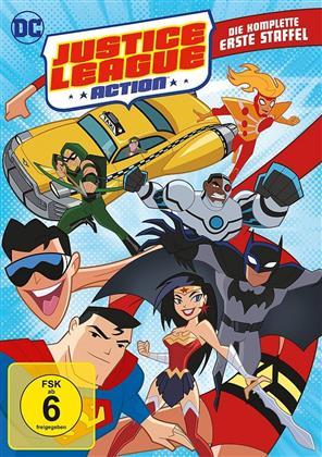 Justice League Action - Staffel 1 (4 DVDs)