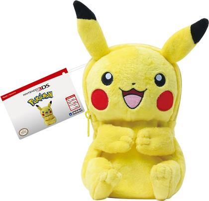Plush Pouch Pokémon - Pikachu Body [New 3DS XL/3DS XL/3DS]
