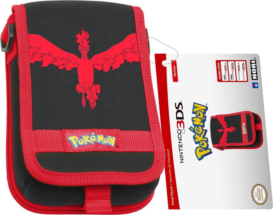 Soft Pouch Pokémon GO - red [New 3DS XL/3DS XL/3DS]