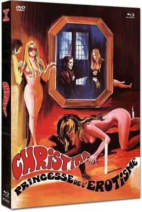 Christina - Princesse de l'érotisme (1973) (Cover A, Eurocult Collection, Limited Edition, Mediabook, Uncut, Blu-ray + DVD)