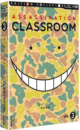 Assassination Classroom - Vol. 3 (Saison 2.1) (Collector's Edition, 2 Blu-rays + 2 DVDs)