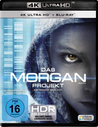 Das Morgan Projekt (2016) (4K Ultra HD + Blu-ray)