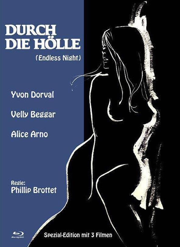 Durch die Hölle (1972) (Eurocult Collection, Cover B, Limited Edition, Mediabook, Special Edition, Blu-ray + DVD)