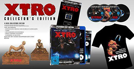 X-Tro (1982) (Platinum Cult Edition, + Büste, 35th Anniversary Edition, Director's Cut, Remastered, Special Edition, Uncut, 2 Blu-rays + 2 DVDs + CD)