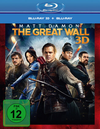 The Great Wall (2016) (Lenticular, Blu-ray 3D + Blu-ray)