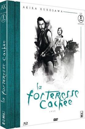 La forteresse cachée (1958) (s/w, Mediabook, Blu-ray + DVD)