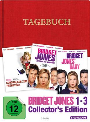 Bridget Jones 1-3 (Collector's Edition Limitata, Mediabook, 3 DVD)