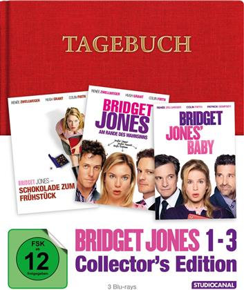 Bridget Jones 1-3 (Collector's Edition Limitata, Mediabook, 3 Blu-ray)