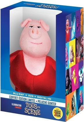 Tous en scène (2016) (+ Plüschtier, Limited Edition, Blu-ray + DVD)