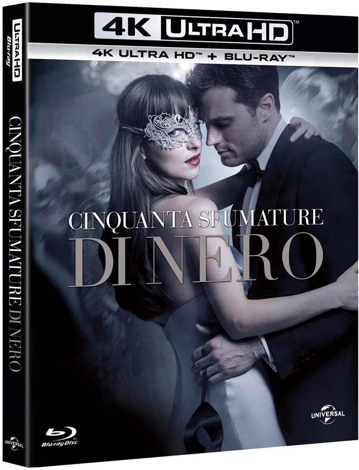 Cinquanta sfumature di nero (2017) (Edizione Segreta, Extended Edition, 4K Ultra HD + Blu-ray)