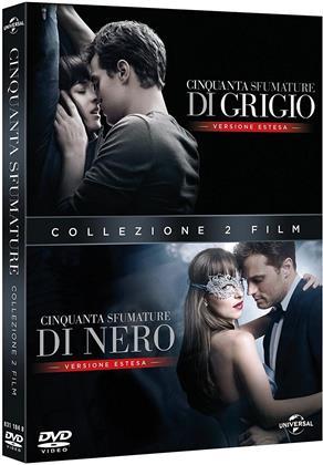 Cinquanta sfumature di grigio / Cinquanta sfumature di nero (Extended Edition, 2 DVDs)