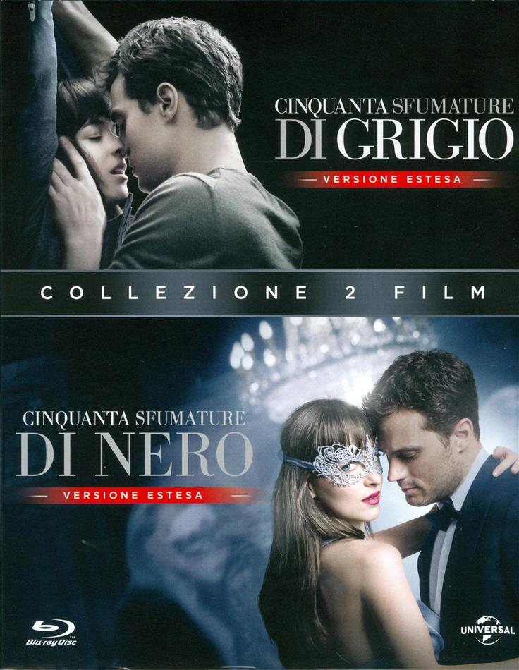 Cinquanta sfumature di grigio / Cinquanta sfumature di nero (Edizione Segreta, 2 Blu-ray)