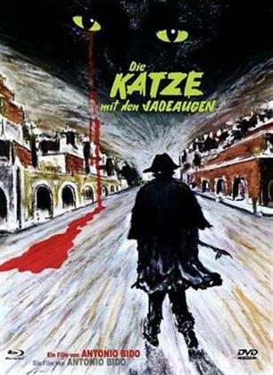 Die Katze mit den Jadeaugen (1977) (Eurocult Collection, Cover A, Limited Edition, Mediabook, Uncut, Blu-ray + DVD)
