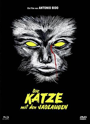 Die Katze mit den Jadeaugen (1977) (Cover B, Eurocult Collection, Limited Edition, Mediabook, Uncut, Blu-ray + DVD)