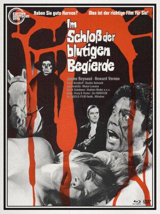 Im Schloss der blutigen Begierde (1968) (Edition Deutsche Vita, Limited Edition, Uncut, Blu-ray + DVD)