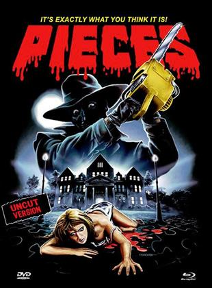 Pieces (1982) (Cover D, Eurocult Collection, Limited Edition, Mediabook, Uncut, Blu-ray + DVD)