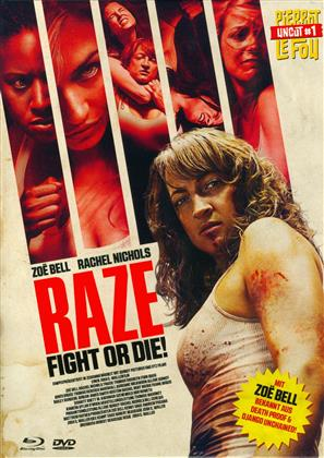 Raze - Fight or Die! (2013) (Pierrot Le Fou Uncut, Limited Edition, Mediabook, Uncut, Blu-ray + DVD)