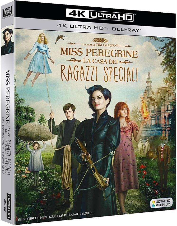 Miss Peregrine - La casa dei ragazzi speciali (2016) (4K Ultra HD + Blu-ray)