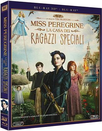 Miss Peregrine - La casa dei ragazzi speciali (2016) (Blu-ray 3D + Blu-ray)