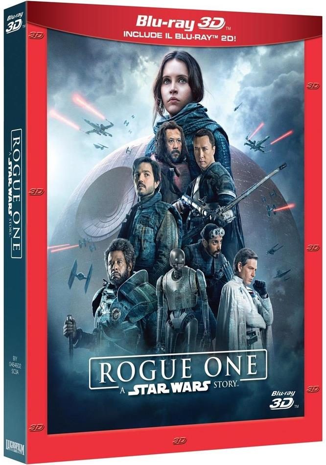 Rogue One - A Star Wars Story (2016) (Blu-ray 3D + 2 Blu-ray)