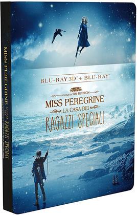 Miss Peregrine - La casa dei ragazzi speciali (2016) (Steelbook, Blu-ray 3D + Blu-ray)