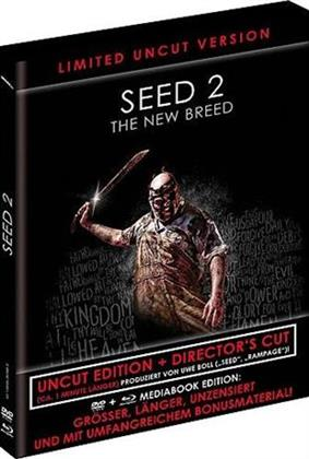 Seed 2 - The New Breed (2014) (Black Book Edition, Director's Cut, Limited Edition, Mediabook, Uncut, Blu-ray + DVD)