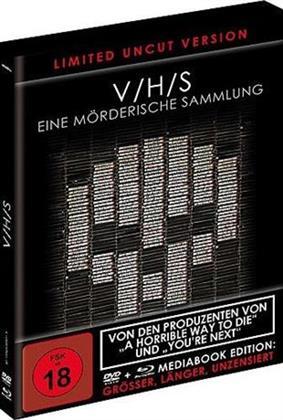 V/H/S - Eine mörderische Sammlung (2012) (Black Book Edition, Limited Edition, Mediabook, Uncut, Blu-ray + DVD)