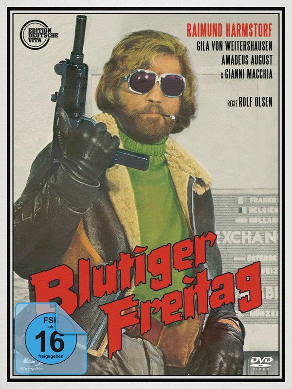 Blutiger Freitag (1972) (Edition Deutsche Vita, Limited Edition, 2 Blu-rays + 2 DVDs)