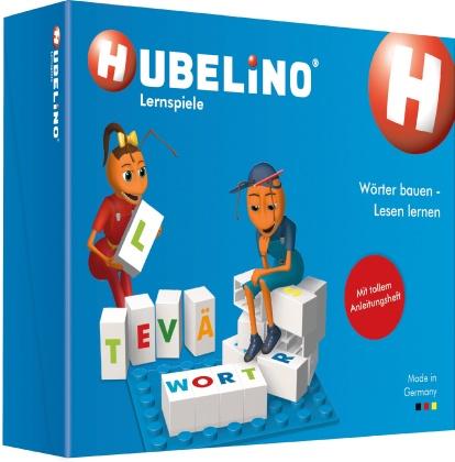 Hubelino: Wörter bauen - Lesen lernen