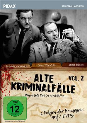 Alte Kriminalfälle - Vol. 2 (Pidax Serien-Klassiker, s/w, 2 DVDs)