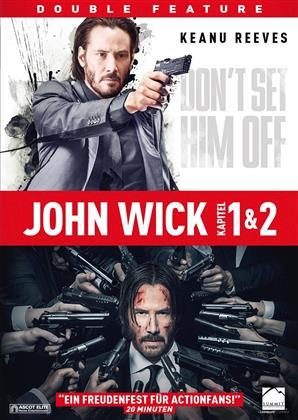 John Wick 1 & 2 (2 DVDs)