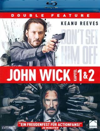 John Wick 1 & 2 (2 Blu-rays)
