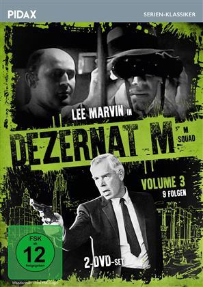 Dezernat M - Vol. 3 (Pidax Serien-Klassiker, s/w, 2 DVDs)