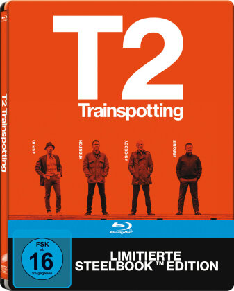 T2 Trainspotting (2017) (Limited Edition, Steelbook)