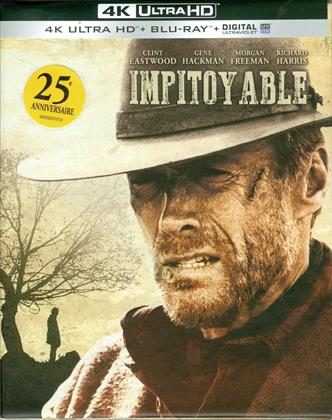 Impitoyable (1992) (Édition 25ème Anniversaire, Édition Limitée, Version Remasterisée, 4K Ultra HD + Blu-ray + 2 DVD)