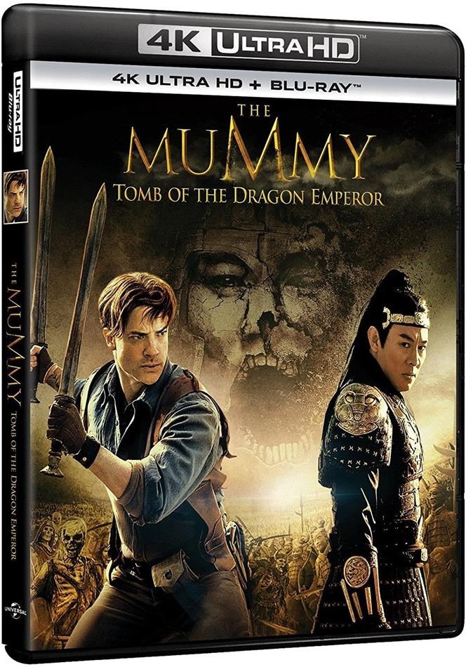 La mummia 3 - La tomba dell'Imperatore Dragone (2008) (4K Ultra HD + Blu-ray)