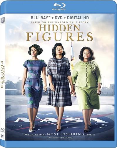 Hidden Figures (2016) (Widescreen, Blu-ray + DVD)