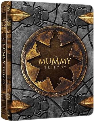 The Mummy Trilogy - La Mummia - La Trilogia (Steelbook, 3 Blu-rays)