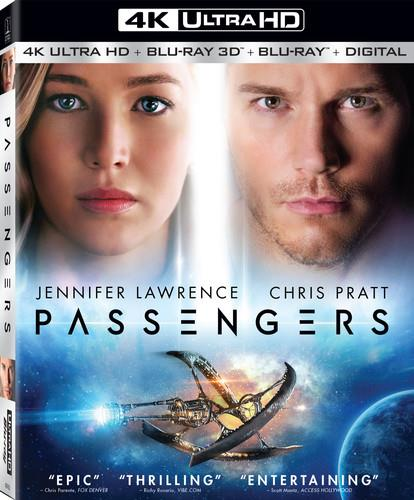 Passengers (2016) - Passengers (2016) (3PC) / (4K) (2016) (Widescreen, Blu-ray + 4K Ultra HD)