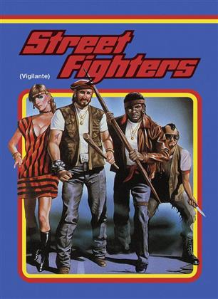 Street Fighters - Vigilante (1982) (Cover A, Limited Edition, Mediabook, Uncut, Blu-ray + DVD)