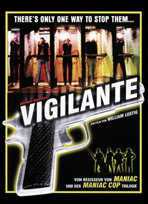 Vigilante (1983) (Cover B, Limited Edition, Mediabook, Uncut, Blu-ray + DVD)