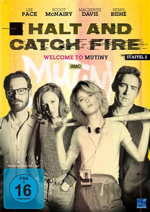 Halt And Catch Fire - Staffel 2 (4 DVDs)