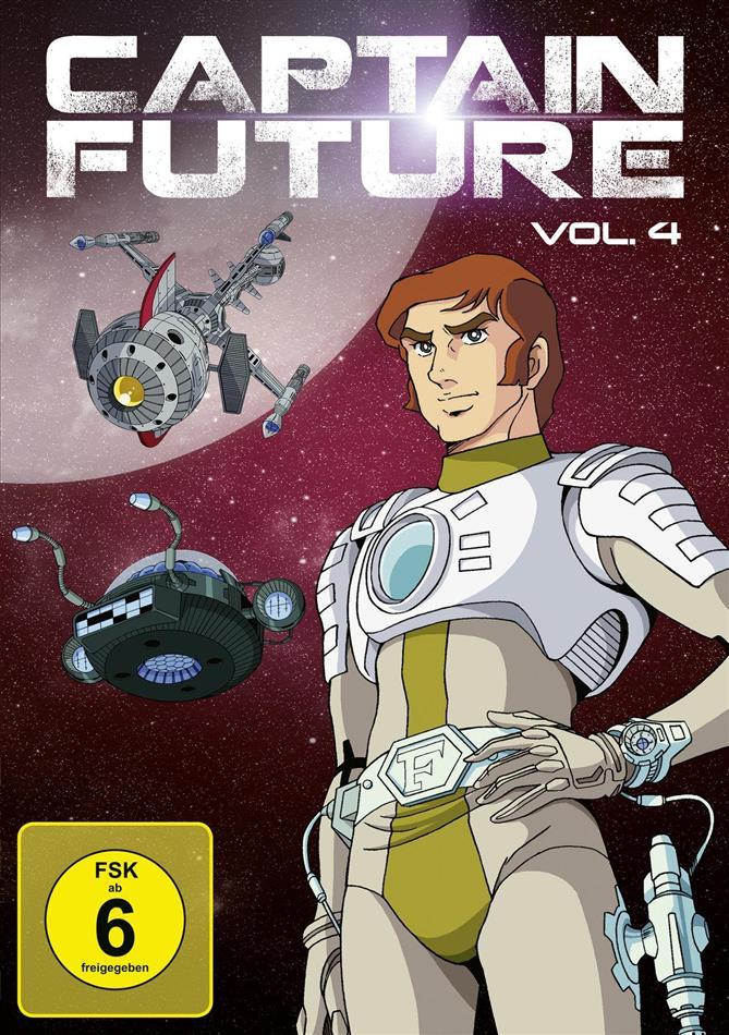 Captain Future - Vol. 4 (Remastered, 2 DVDs)