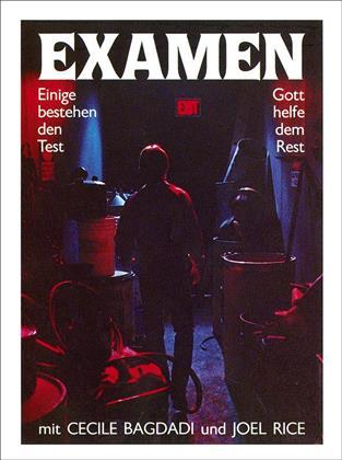 Examen (1981) (Cover B, Limited Edition, Mediabook, Uncut, Blu-ray + DVD)