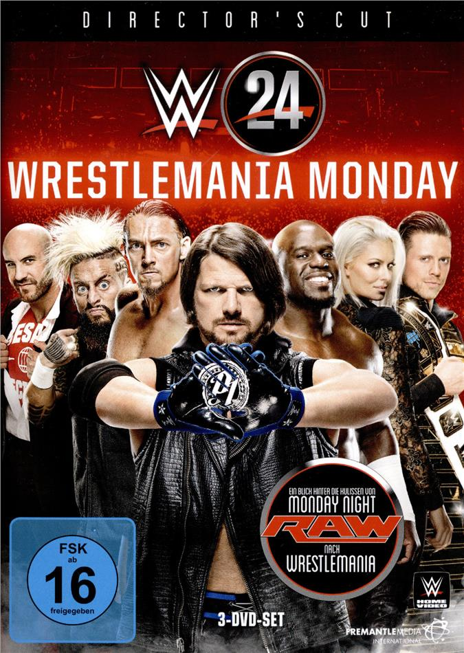 WWE: Wrestlemania Monday (Director's Cut, 3 DVDs)