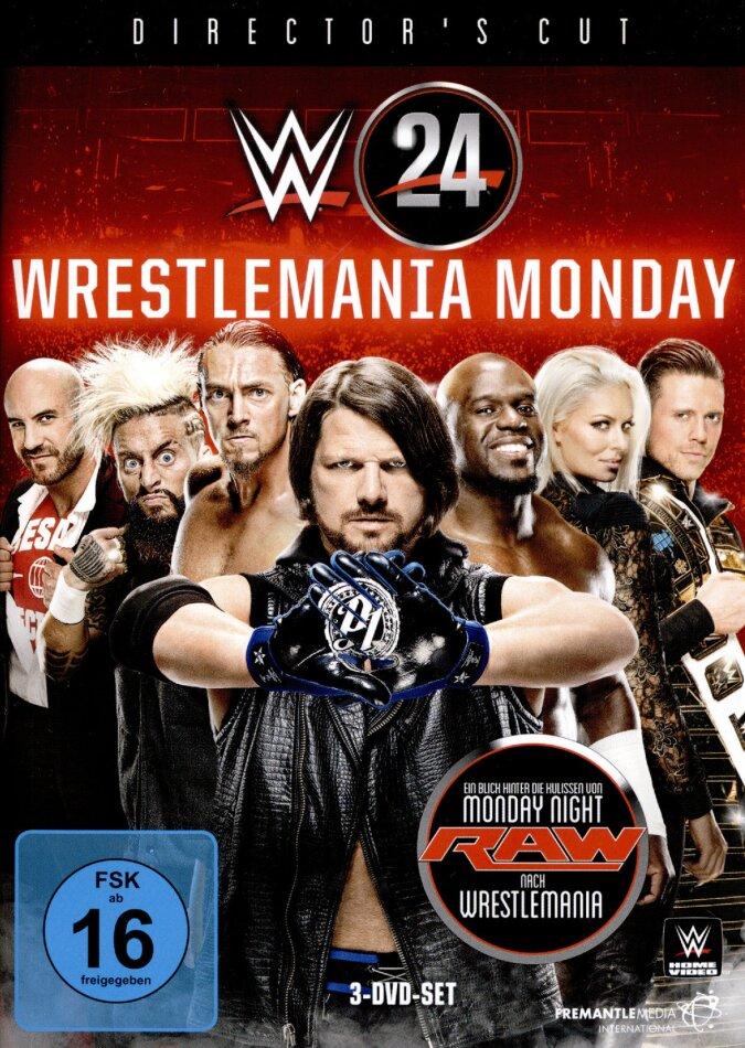 WWE: Wrestlemania Monday (Director's Cut, 3 DVDs)