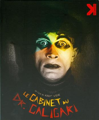 Le cabinet du Dr. Caligari (1920) (s/w, Blu-ray + 2 DVDs)