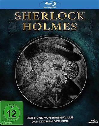 Sherlock Holmes - Der Hund von Baskervilles / Das Zeichen der Vier (Remastered, Uncut, 2 Blu-rays)